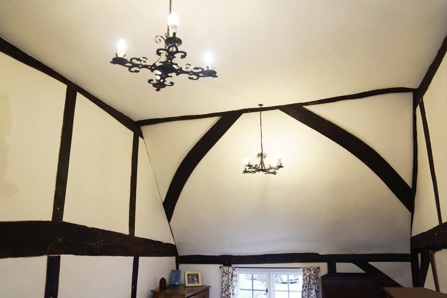 Oak Timber Frame - M H Restoration
